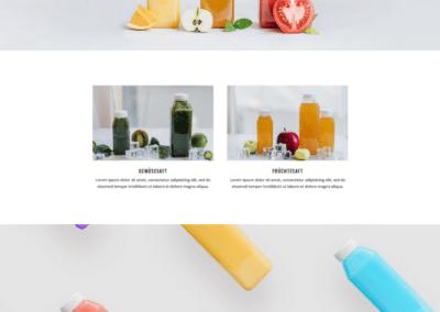 Saftladen, Fruit Bar, Bar, Webseite, Webdesign