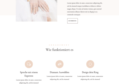 Juwelier Webdesign, Juwelier Webseite, Webshop, Shop, Schmuckladen